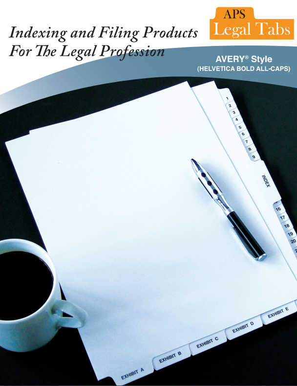 APS Legal Tabs Brochure PDF